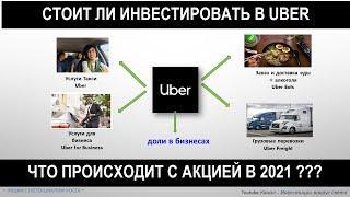 Анализ акции Uber - Разбираемся что происходит с акцией и стоит ли инвестировать в 2021 году?