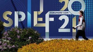 В Санкт-Петербурге завершается первый день работы Международного экономического форума