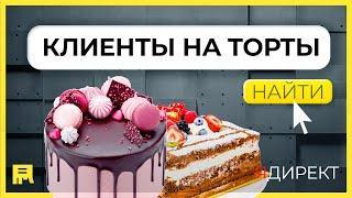 Продвижение тортов в Яндекс Директ