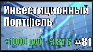 Инвестиционный портфель от 18.07.2021 Тинькофф Инвестиции. Инвестиции для начинающих