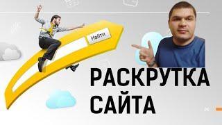 Раскрутка сайта в Яндекс и Google