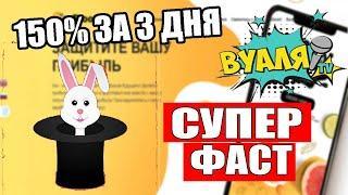 frooti-cash.online - 150% За 3 дня, Вклады от 10 рублей, Супер быстрый заработок в интернете