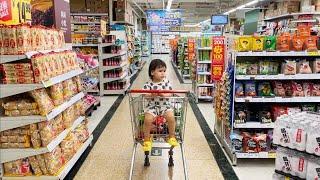 Супермаркет в Китае. Цены и Ассортимент. Семья и Жизнь в г. Шэньчжэнь.