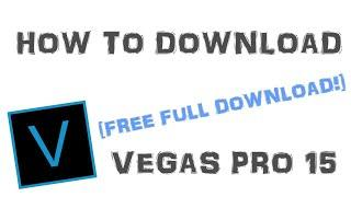 Sony Vegas Pro 15 FULL PROGRAM FREE!! [2021]