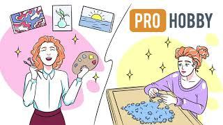 Дудлвидео для рекламы маркетплейса товаров для хобби и творчества  PROHOBBY