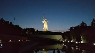 Мамаев Курган вечером летом 2021 года, Волгоград, Центральный район, Часть 3