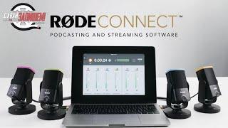 Rode Connect - обзор бесплатного приложения для стримов