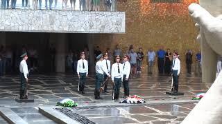 Мамаев Курган Волгоград Смена Почётного Караула в Пантеоне Славы 2 сентября 2021 года, Полное Видео