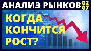 Фондовый рынок. Когда остановится рост? Инвестиции в акции.  Доллар. Нефть. Инвестирование. Трейдинг