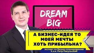 А бизнес-идея то моей мечты хоть прибыльна?