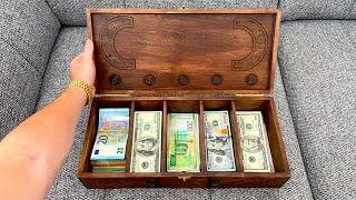 Как управлять деньгами! Финансовая грамотность для начинающих! Шкатулка для денег! Инвестиции в себя