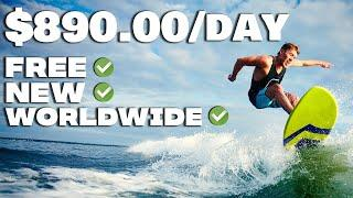 Earn $890 Per DAY Using This FREE WEBSITE (Make Money Online 2021)